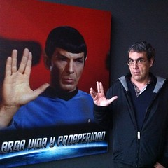 Mr Spock y Mr @blogpocket