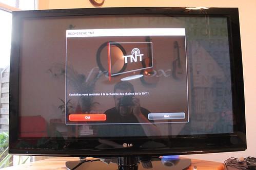 scan des chaines TNT