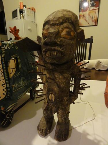 邪神/ アフリカの呪い人形