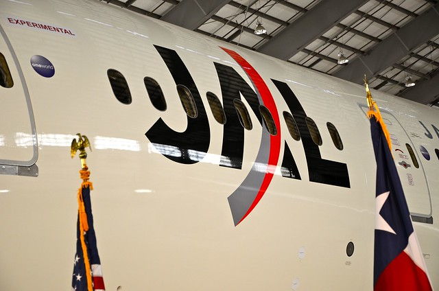 Japan Airlines Boeing 787 Dreamliner JA822A/N1003W ZA177