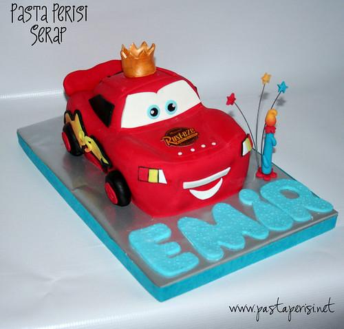 Şimşek mcqueen Cake -Emir