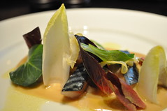 Starter - Hay Smoked Mackerel (YSL807) Tags: london dinner mackerel knightsbridge mandarinoriental hestonblumenthal ashleypalmerwatts haysmokedmackerel