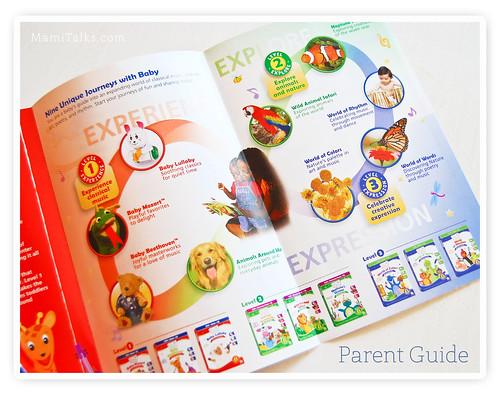 Baby einstein brochure