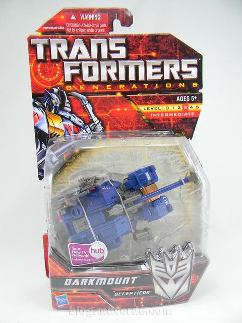 Transformers Darkmount (Straxus) Generations Deluxe - caja