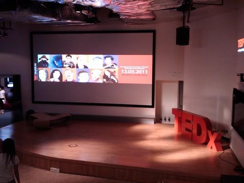 TEDxJakarta stage