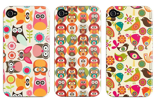 Birds and flowers cases