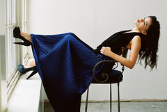 (kirstin kerr) Tags: scarf circle skirt americanapparel accordian sheer pleated laurenandrew
