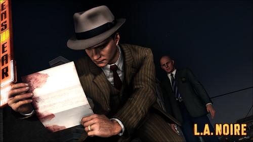 L.A. Noire screen