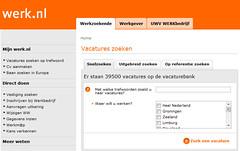 Werk.nl voor automatische matching tussen werkzoekenden en werkgevers