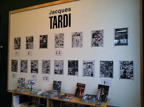 Jacques Tardi exhibit at Fantagraphics Bookstore & Gallery