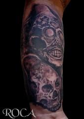 CULTURA MAYA-SILBATOS DE LA MUERTE (roca tattoo studio) Tags: art tattoo studio arte maya diseo cultura roca tatuaje prehispanic azteca precolombino prehispanico