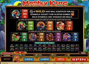 free Monkey King slot mini symbol