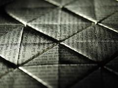 (photo ephemera) Tags: abstract paper book words pattern pages boxes folded josephconrad almayersfolly photoephemera 1350549