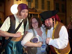 Pirates say Arrrrrgh!