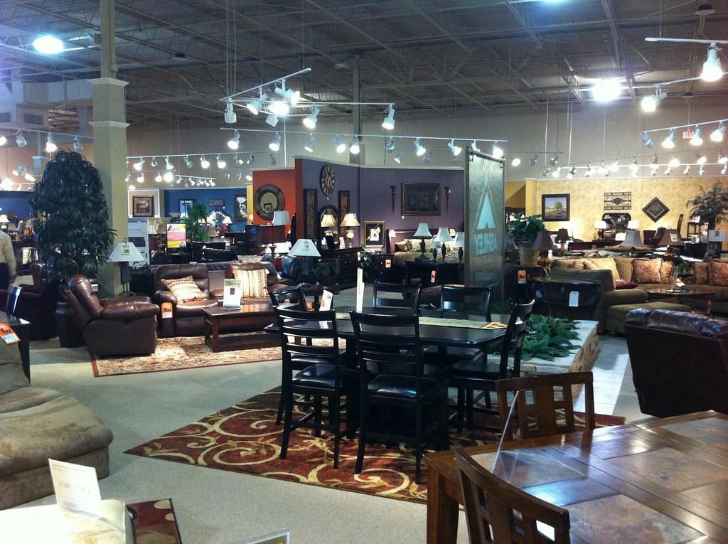 Ashley Furniture Showroom