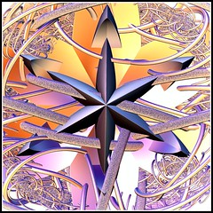trapped star (Colordreams63) Tags: digital star metallic fractal smb textur incendia colordreams