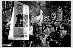 Demonstration (Gerald Verdon) Tags: leica copyright portugal europe lisbon rangefinder demonstration m8 manif verdon socialissues austerity cgtp allrightsreservedgraldverdon