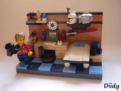 Geek room (FilipS) Tags: nerd trek star geek lego room millenium falcon scifi sw wars popculture clone vignette moc vig cuusoo diidy