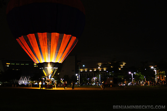 3rd Putrajaya Hot Air Balloon Festival (Night)