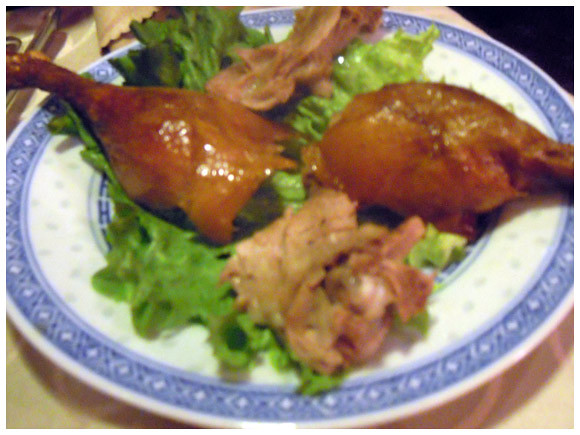 Peking duck - Le Phenix restaurant, Geneva, Switzerland