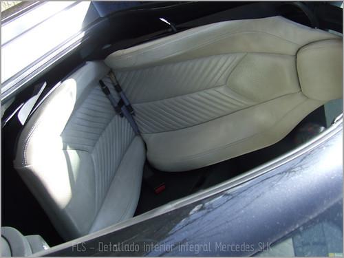 Mercedes SLK detallado interior-11