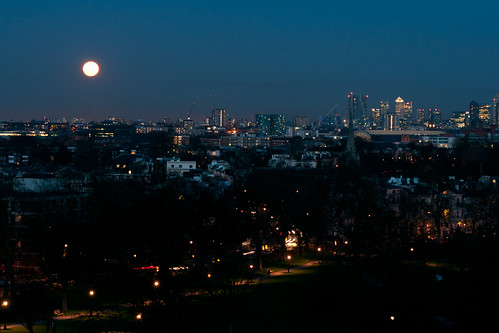Primrose Hill Sunset and Moon-17