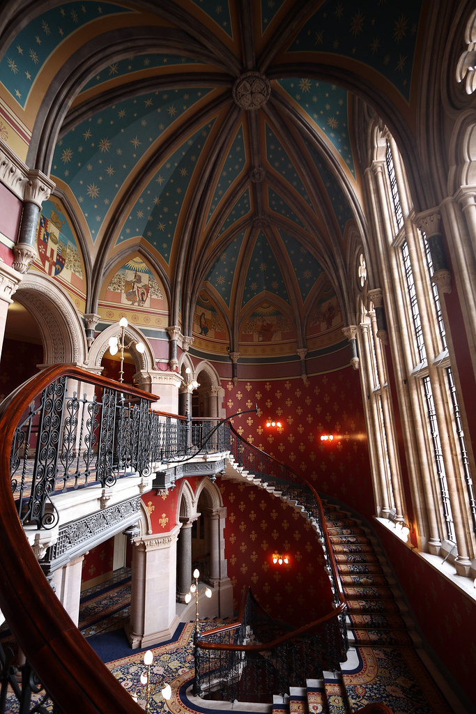 St Pancras Renaissance Hotel - Grand Staircase [7395]
