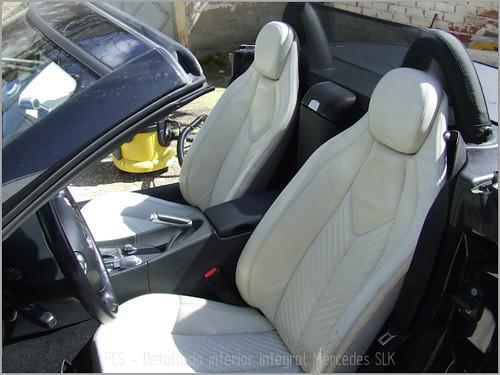 Mercedes SLK detallado interior-19