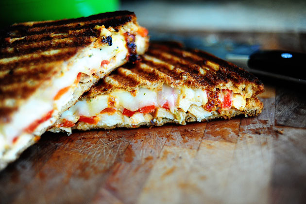 Grilled Chicken and Roasted Red Pepper Panini | The Pioneer Woman ...