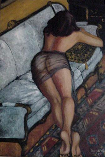 Girl on the Sofa, Berrin Tuncel