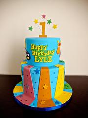 Lyle's Backyardigans Cake (Love & Sugar Bakeshop) Tags: cake firstbirthday lyle backyardigans