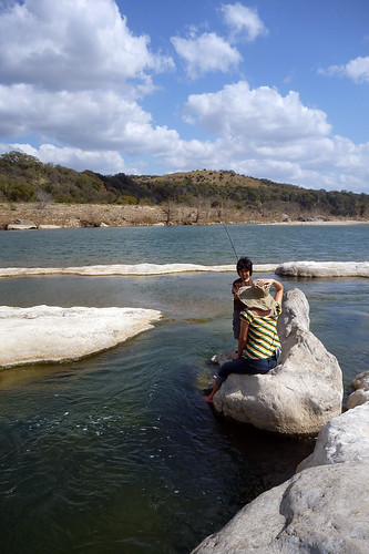Pedernales Falls Fishing