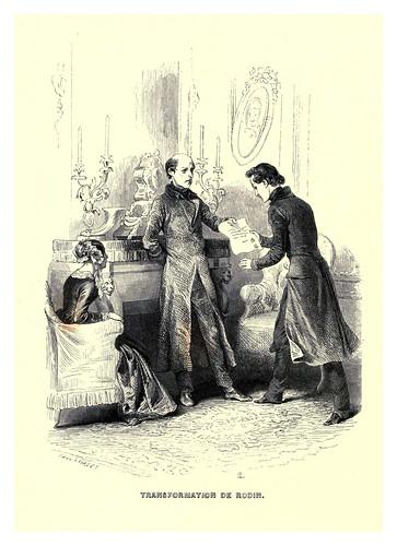 013-Transformacion de Rodin-Le juif errant 1845- Eugene Sue-ilustraciones de Paul Gavarni