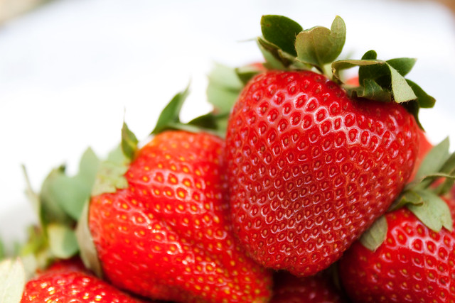 Fresh-picked Strawberries (March 22)