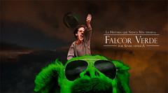 Falcor verde (senseinitsuga) Tags: falcor nuncams falconverde historiasinfin