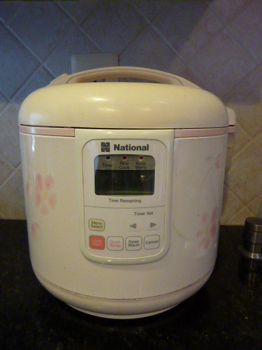 Rice cooker $5