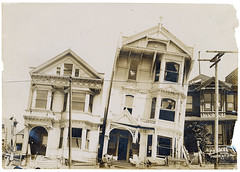 Photograph of the Effect of Earthquake on Houses Built on Loose or Made Ground After the 1906 San Francisco Earthquake, 1906 (The U.S. National Archives) Tags: sf sanfrancisco california ca city earthquake downtown thecity april oldphoto 1906 sfist  sanfranciscoearthquake april181906  1906sanfranciscoearthquake greatsanfranciscoearthquake usnationalarchives thegreatsanfranciscoearthquake todaysdocument 04181906 nara:arcid=2127357 18041906 the1906sanfranciscoearthquake great1906sanfranciscoearthquake thegreat1906sanfranciscoearthquake