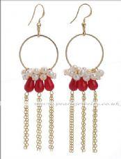 Freshwater pearl earrings (herry5413) Tags: pearl earrings freshwater