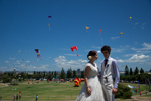 Kite Festival! (Photo by Luke Oliver)