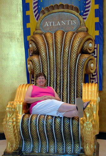 "Barb Chillaxes in the ""Big Chair"""