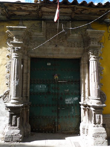 Doorway - Potosi, Bolivia