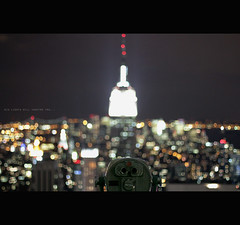 Big lights will inspire you... (Bazzerio) Tags: nyc newyork look canon out paul 50mm view awesome 14 bailey aliciakeys empirestateofmind bazzerio biglightswillinspireyou topodrock
