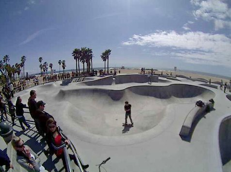 Venice Skatepark Live Video