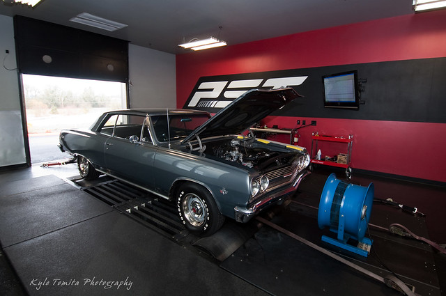1965 Chevy Malibu SS on the dyno at PSI
