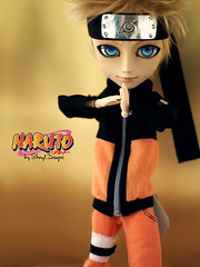 Naruto_Sesion03_03 (Sheryl Designs) Tags: new blue boy orange black anime color eye face yellow japan hair design carved outfit eyes doll acrylic dolls eyelashes dress body ninja forum manga foro lips chips wig chip modified designs groove pullip 16 custom naruto tae pullips eyebrows bodies mechanism sheryl sculpt junplanning taeyang eyemech taeyangs obisu sheryldesigns pullipes forodepullips