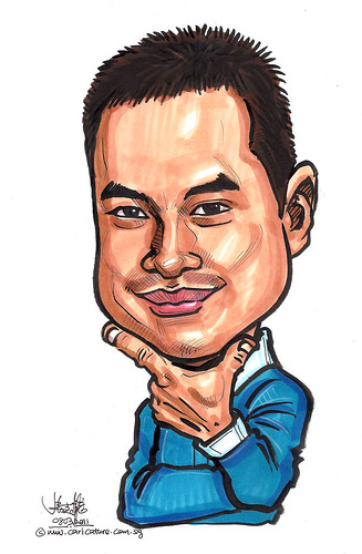 caricature for Ministry of Trade and Industry
