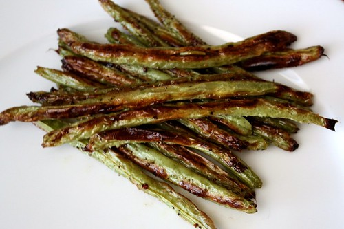 When you roast green beans, they almost have the same texture as ...