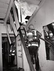 FS 102 Attic fire Circa 1970s