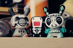 087/365 Domo's New Dunny Friends (Chris Gritti) Tags: domo 365 qee 087365