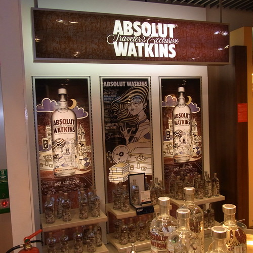 Absolut Vodka Watkins - Travelers Exclusive